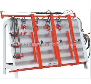 液压单面框架组合机、门窗组框机MH2210D