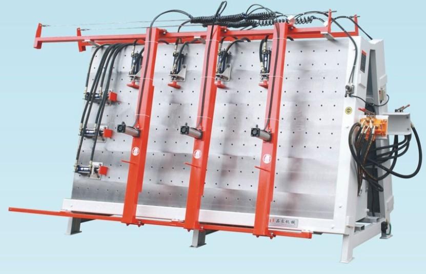 液压双面框架组合机、门窗组框机MH2210